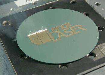 Laser Marking on a Disc